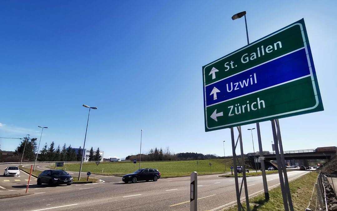 Autobahn Oberbüren